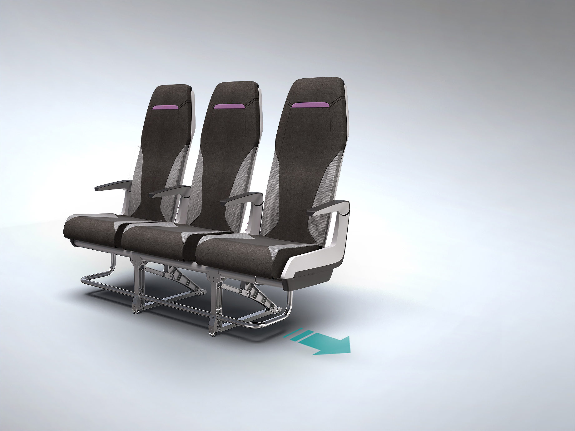 Glad to introduce you PASSME, Innovative Aircraft Seat concept